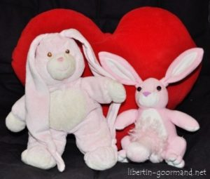 lapins coeur