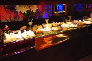 Overside : le buffet
